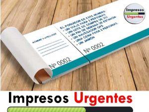 Acciones Impresos Urgentes