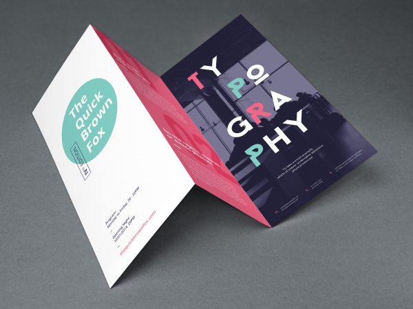 Impresion a color de brochures 100 uds