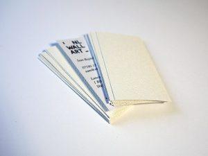 tarjetas presentacion lino blanco