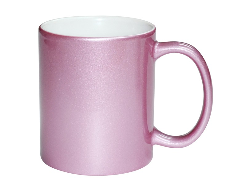 Taza personalizada rosada